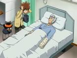 Ryohei en el hospital