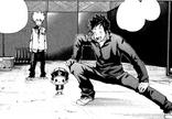 Yamamoto preparándose para entrenar