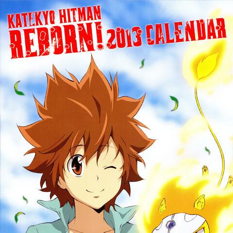 Cover: Reborn and Tsuna