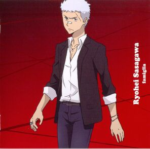 """Character Album SONG """"RED"""" ~FAMIGLIA~ ryohei sasagawa - mata ashita!"""