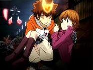 Tsuna protege Kyoko