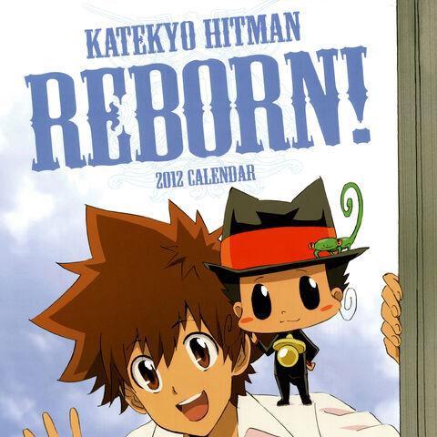 Cover: Tsuna and Reborn