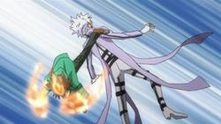 Tsuna Kicks Byakuran