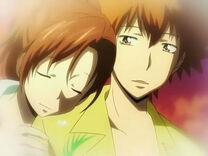 Tsuna en un sueño de Haru