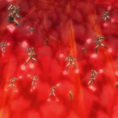 Fiamma Scarlatta wall of Flames.