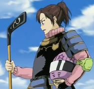 Haru con armadura