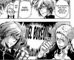 Koyo retando Ryohei