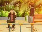 Gokudera habla con Nana Sawada
