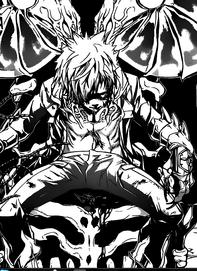 Enma con ganas de matar a Tsuna