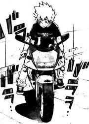 Moto de Tsuna en el manga
