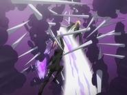 Hibari derrota a Gamma