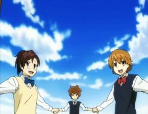 The Girls + Tsuna in Friend