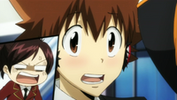 Haru is Mad at Tsuna's Blush