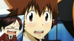Haru is Mad at Tsuna's Blush