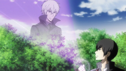 Alaude appears before Hibari