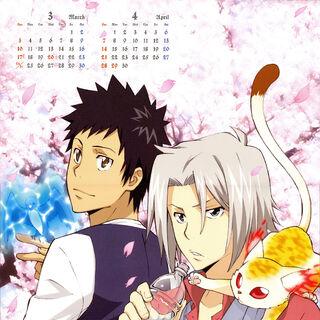 March/April: Hayato Gokudera & Takeshi Yamamoto