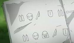 G-gokudera-writing