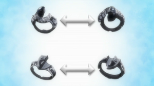 The Half Vongola Rings