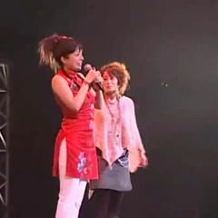 Takeuchi and Chiang in Rebocon 2008.