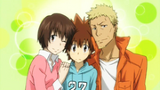 Tsuna And His Parents