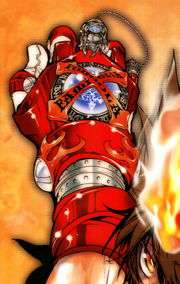 X-Gloves Version Vongola Gear