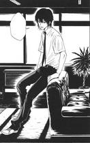 Hibari en la sala de recepción