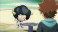Lambo and Tsuna during Lampo's Test of Lambo.png