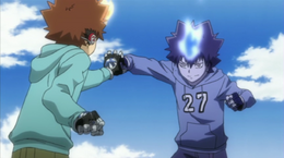 Tsuna vs Demon