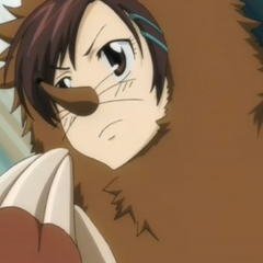 Haru as a Mole.