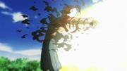 Ryohei Striking Himself With Sun Flames