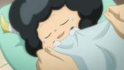 Tsuna tucking Lambo in