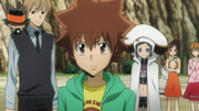 Tsuna Makes His Choice