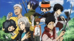 Tsuna And The Guardians