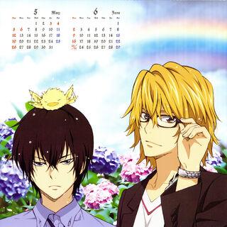 May/June: Kyoya Hibari & Dino