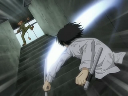 Hibari defeats Ken