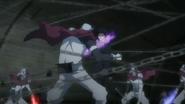Los Fantoma peleando con Hibari
