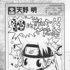 Amano's <i>Naruto</i> fanart.