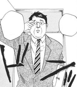 Padre de Haru manga