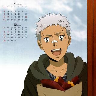 September/October: Ryohei