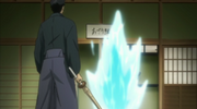 Asari se materializa ante Yamamoto