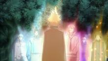 Giotto y sus Guardianes regresan a sus Anillos