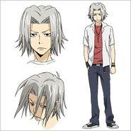 Hayato Character-Design