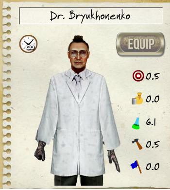Dr.Bryukhonenko Skillsheet
