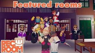 Rec Room - Featured Rooms (Community Builds) - Week of Jan 14th
