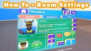 How To Rec Room - Room Settings - Subrooms, Permissions, Roles