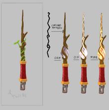 Magic wand concept