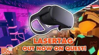 Rec Room Laser Tag Oculus Quest Announcement!