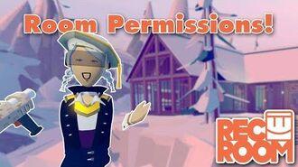 Edit Room Permissions!