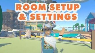 How To Rec Room - Room Setup and Settings