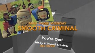 Rec Room Mini-game Monday - Smooth Criminal